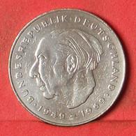 GERMANY FEDERAL REPUBLIC 2 MARK 1977 G -    KM# A127 - (Nº39472) - 2 Mark