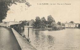 Tanneur Tannerie  à La Flèche Le Loir Bateau Lavoir   Tannery - Ambachten