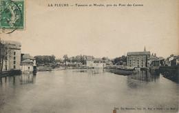Tanneur Tannerie Et Moulin  à La Flèche Le Loir Pont Des Carmes Water Mill    Tannery - Ambachten