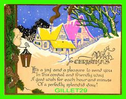 NOEL - WISH FOR CHRISTMAS - IT'S AJOY AND A PLEASURE TO SEND YOU - - Non Classificati
