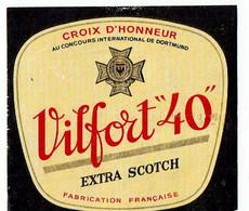 Ancienne étiquette Brasserie Dubois-Vaast à Denain 59 - Beer