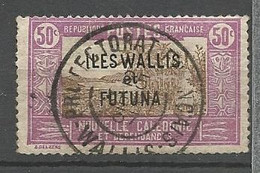 WALLIS ET FUTUNA  N° 54 CACHET PROTECTORAT FRANCAIS WALLIS - Used Stamps