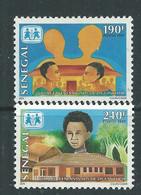 Sénégal N° 1273 / 74 XX Village D' Enfants, Les 2 Valeurs Sans Charnière, TB - Senegal (1960-...)