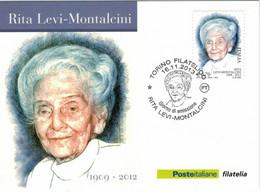 Rita Levi-Montalcini War Eine Italienische Medizinerin Und Neurobiologin - Für Studien Zellwachstum NP - Turin 2013 - Medicine