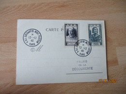 1946 Timbre Fouquet Et Villon  U N I Cinquantenaire Mort Pasteur - 1921-1960: Periodo Moderno