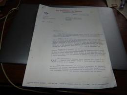 Papeteries De Genval - Ouvrage 1904-1954 Lettre D'embauche Et Règlement De Travail - Non Classés