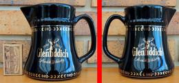 1 Pichet à WHISKY GLENFIDDICH Noir Décor Doré Hauteur 130mm - Jugs