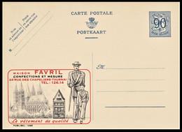 Publibel Neuve 1068 . 0,90c . FAVRIL . LE VETEMENT DE QUALITE CONFECTIONS ET MESURE . TOURNAI - Publibels