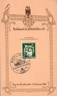 Reichsbund Karte Tag Der Briefmarke In Berlin 1941 - Covers & Documents
