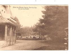 REF2939/ CP-PC Hôtel Des Hautes Fagnes , Sart-lez-Spa Animée C.Spa 16/4/31 > Gand CP Taxée 10c C.Gent 17/4/1931 - Spa