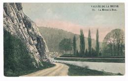 CPA  : Vallée De La Meuse - La Meuse à HUN - Carte De La Société De Bateaux Namur Touriste - Yvoir