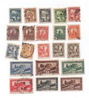 TUNISIE -  1931/33- N+ Et Oblitéres-  -( Série 20 Valeurs)  -cat Yvert N°161-180 -   Voir  Scans - Unclassified