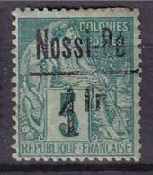 NOSSI-BE - 1 Fr. Sur 5 C .Alphée Dubois Neuf FAUX - Unused Stamps