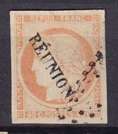 REUNION - 40 C. Cérès Oblitéré FAUX - Used Stamps