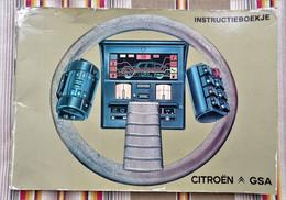 Livret  Instructieboekje CITROEN GSA 1981 - Practical
