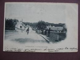 CPA 91 LA FERTE ALAIS Pont De Villiers ANIMEE 1903 - La Ferte Alais