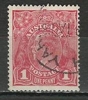 Australia SG 47i, Mi 30 II O Used - Used Stamps