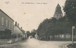 Rians 102 Place De L' Eglise  Non Voyagé EMB - Andere Gemeenten