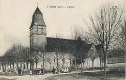 Rians 8 Eglise  Ecrite De Rians  Non Timbrée - Other Municipalities