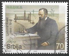 Serbia 2020. Scott #916 (U) Ljubomir Kleric (1844-1910), Mechanical Engineer - Serbia