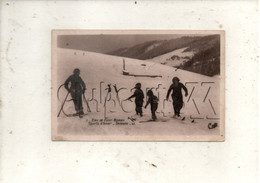 Font-Romeu-Odeillo-Via (66) : GP De Skieurs Sur Les Pistes De Font-Romeu  En 1930 (animé) PF. - Andere Gemeenten