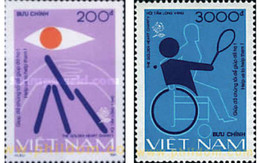 Ref. 68563 * MNH * - VIET NAM. 1991. INTERNATIONAL YEAR OF DISABLED PERSONS . AÑO INTERNACIONAL DE LOS MINUSVALIDOS - Vietnam