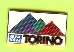 Pin's Médias USA Today Torino - 1M03 - Médias