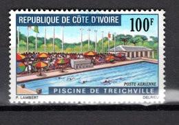 COTE D'IVOIRE  PA  N° 50  NEUF SANS CHARNIERE COTE  3.20€  PISCINE - Ivory Coast (1960-...)
