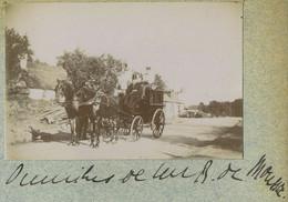 L'omnibus De Monsieur Roger Marie Félix Augier De Moussac. Noblesse. Masseret Ou Environs. Corrèze. 1898. - Alte (vor 1900)