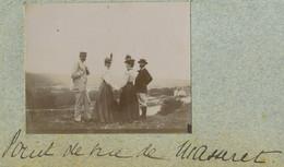 Famille Augier De Moussac. Noblesse. Point De Vue De Masseret (Corrèze). 1898. - Alte (vor 1900)