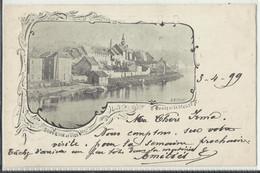 VISÉ (Wezet)  - Souvenir De Visé, Carte Litho - Bords De La Meuse 1899 - Visé