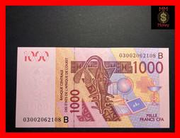 BENIN  1.000  1000 Francs  2003  WAS  P. 215 B  UNC - Benin