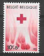 COB 1588 ** - Croix-Rouge De Belgique - Ongebruikt