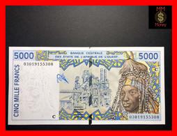 Burkina Faso 5.000   5000  Franc 2003  WAS  P. 313  C  UNC- - Burkina Faso