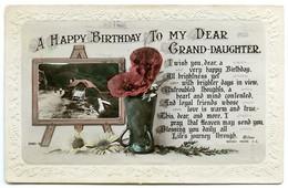 A HAPPY BIRTHDAY TO MY DEAR GRAND-DAUGHTER / ADDRESS - NORTHAMPTON, EDITH STREET (NEWBURY) - Verjaardag