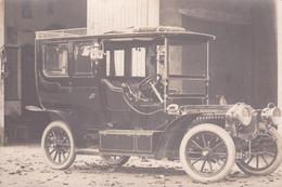 Voiture Ancienne   PANHARD LEVASSOR 1908  Carte Photo - Turismo