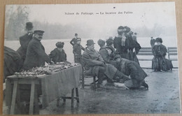 75  PARIS  SCENES DE  PATINAGE    LA LOCATION DES  PATINS - Straßenhandel Und Kleingewerbe