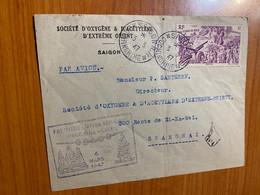 1 ère Liaison Aérienne Indochine -Chine 1947 - Luchtpost