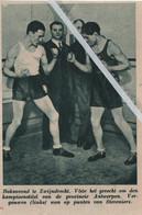 ZWIJNDRECHT..BOKSEN..1935.. KAMPIOENSTITEL PROV. ANTWERPEN VERGAUWEN WON TEGEN STEVENIERS - Unclassified