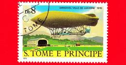 S. TOME' E PRINCIPE - Nuovo - 1979 - Aviazione - Dirigibili - Ville De Lucerne, 1910 - 8 - Sao Tome En Principe