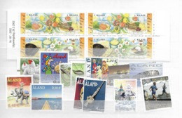 2002 MNH Aland Year Collection, Over-complete - Aland