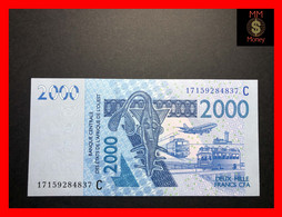 Burkina Faso  2.000  2000  Franc  2017  WAS  P. 316 C   UNC - Burkina Faso