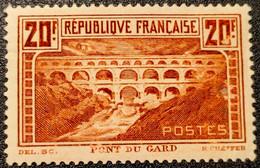 N° 262A  Neuf * Gomme D'Origine Etat Bien. - Unused Stamps