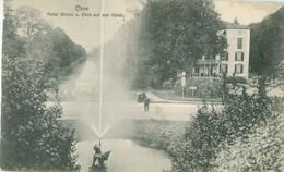Cleve; Hotel Stirum U. Blick Auf Den Kanal - Gelaufen. (Jos. Labs Jr. - Cleve) - Kleve