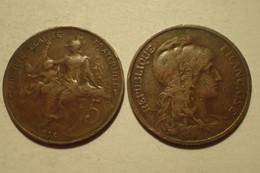 1915 - France - 5 CENTIMES, Dupuis, KM 842, Gad 165 - C. 5 Centesimi