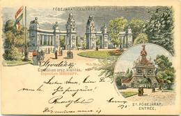 Budapest Exposition Millenaire Föbejarat - Ungarn
