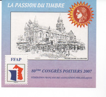 France Bloc CNEP N°41 De 2007 Poitiers - FFAP
