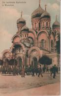 POLAND - Die Beruhmte Kathedrale In Warscau -- VG Polish Stamps And 1923 Postmark - Poland
