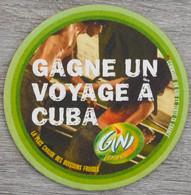 Sous-bock GINI Lemon Gagne Un Voyage à Cuba Bierdeckel Bierviltje Coaster (N) - Portavasos