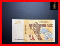 Togo  500 Francs  2018  WAS  P. 819 T  UNC - Togo